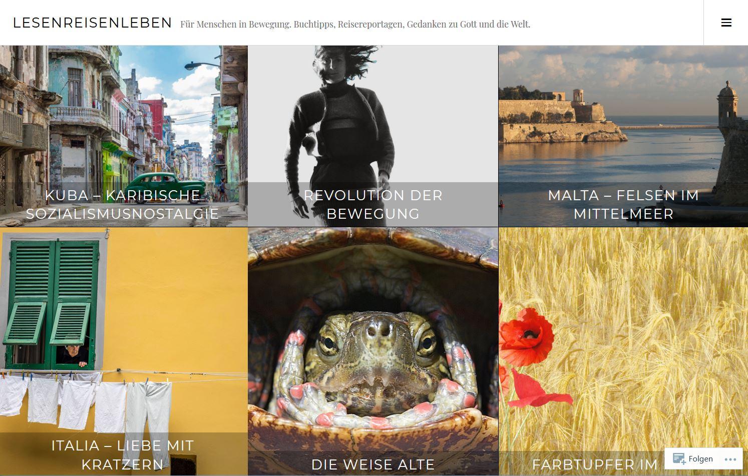 Artikel zu Lesen, Reisen und Lifestyle