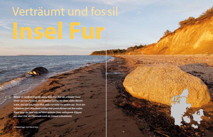 Kultur und Natur einer dänischen Insel